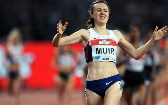 Laura Muir breaks record at British Grand Prix
