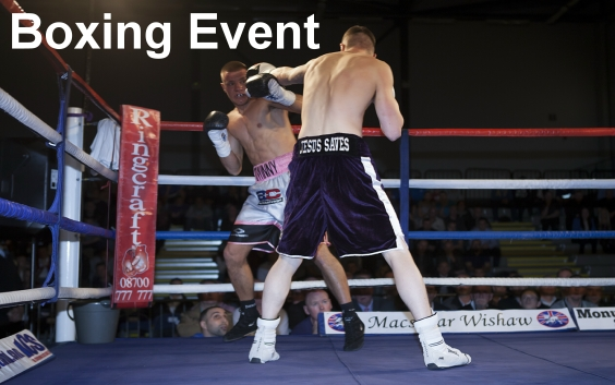British Heavyweight Title Fight in Motherwell