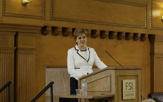 Nicola Sturgeon sets out global vision for Scotland