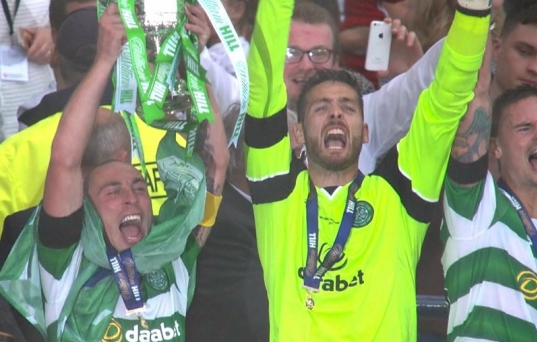 Celtic win Scottish Cup to seal Treble