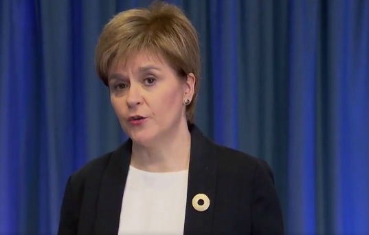 First Minister addresses parliament on Manchester attack