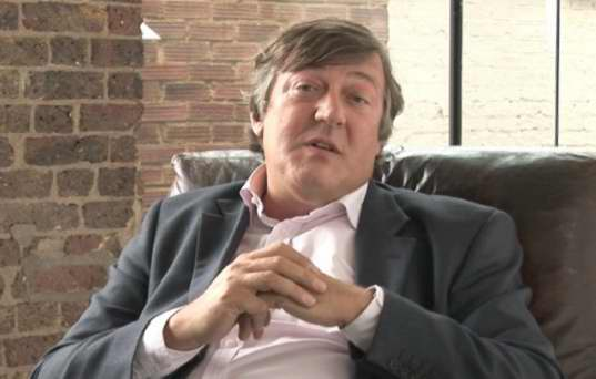 Stephen Fry's Warning For The Web