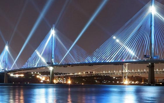 Queensferry Crossing officially opens